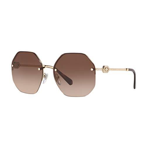 Sonnenbrillen Bvlgari Divas' Dream BV 6122B Pale Gold/Brown Shaded Damenbrillen