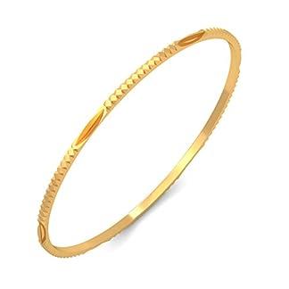 BlueStone 18k (750) Yellow Gold Dafne Bangle