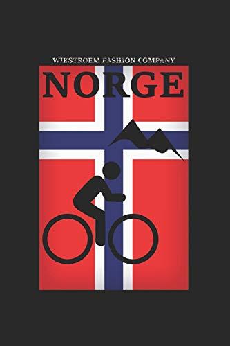 Wikstroem - Notes: Norwegen Berge Fahrrad Mountainbike - Monatsplaner 15,24 x 22,86
