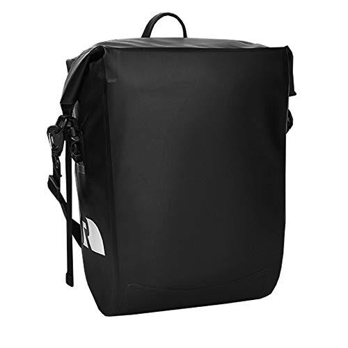 ZJY 20L Fahrradkoffer, Satteltaschen, Gepäck - PVC wasserdicht - Rollendesign - Clipbefestigung - mit Schultergurt - Geeignet für Reiten im Freien, Radfahren -