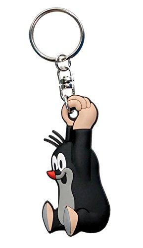 Schlüsselanhänger Der kleine Maulwurf 3D hängend: mit Schlüsselring