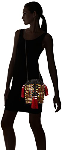 Antik Batik Zack, Sac porté épaule - Femme Multicolore (Multico)