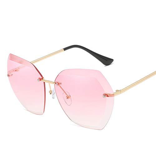 DIYOO Sonnenbrille Frauen männer Unisex Mode Farbverlauf Sonnenbrille klassischen ton Spiegel objektiv Brille Reise Sonnenbrille rosa
