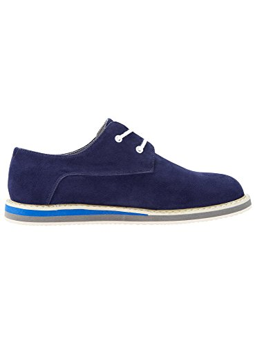 oodji Ultra Homme Chaussures Montantes en Suédine Bleu (7900N)