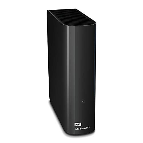 WD Elements Desktop - Disco duro externo de sobremesa de 2 TB, color negro