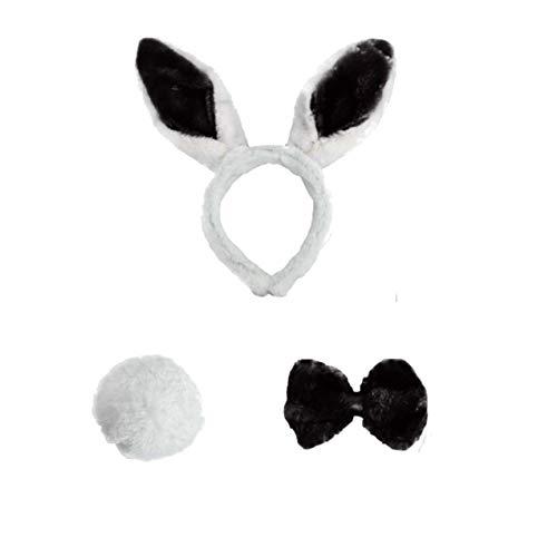 r Kaninchen Hase Ostern Stirnband Only Alice Mad Hat Halloween Kostüm Zubehör ()