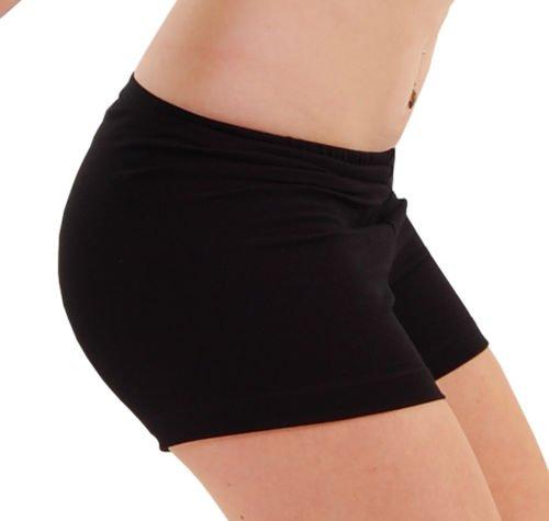 ladies-girls-dance-gymnastics-school-hot-pants-shorts-matt-cotton-lycra-childs-adults-by-dance-gear-