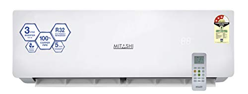 Mitashi 1 Ton 3 Star Inverter Split Air Conditioner (Copper, MiSAC103INv45, White)