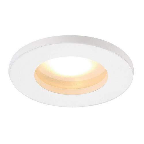 SLV LED Einbaustrahler DOLIX OUT zur Decken-Beleuchtung innen  LED Spot, Einbau-Leuchte, Deckenstrahler Flur, Wohnzimmer, Küche, LED Deckenleuchte Badezimmer-geeignet   GU5.3, max. 50W, EEK C-A+, IP65 (Leuchten Decke Küche)