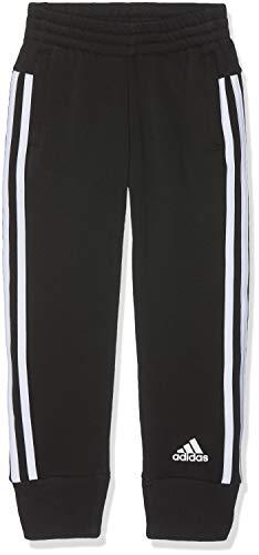 adidas Mädchen YG MH 3S Pants, Black/White, 13-14 Years