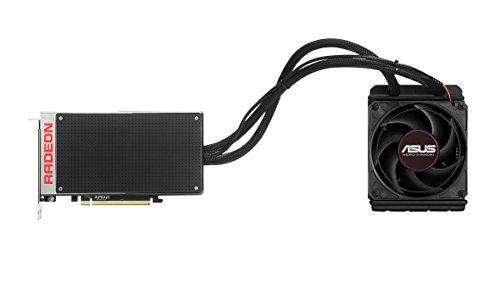 Asus R9 FuryX Scheda Video 4GB, Nero