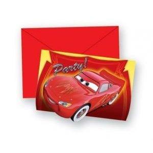 Procos - Disney Cars Einladungskarten
