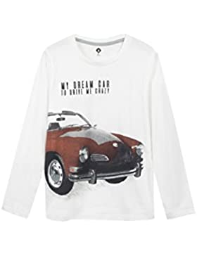 Z T-Shirt Voiture Rétro Écru, Camiseta para Niños