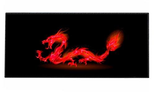 Silent Monsters 1003002202 - Alfombrilla de ratón para gaming, XXL (900 x...