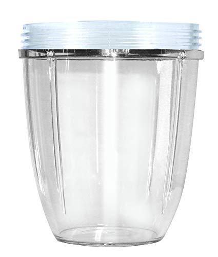 Nutribullet NBM-VE011RV Vaso Corto, Transparente