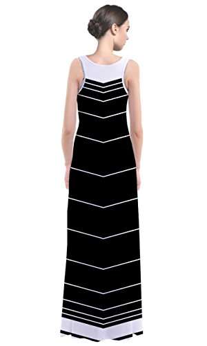 CowCow - Robe - Femme Multicolore Noir et blanc Violet