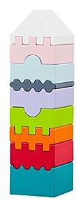 Cubika 11315Juguete, Madera Juguete, Toys, Juguete para Ladrillos, holzbausteine, Después De motricidad, Juguete
