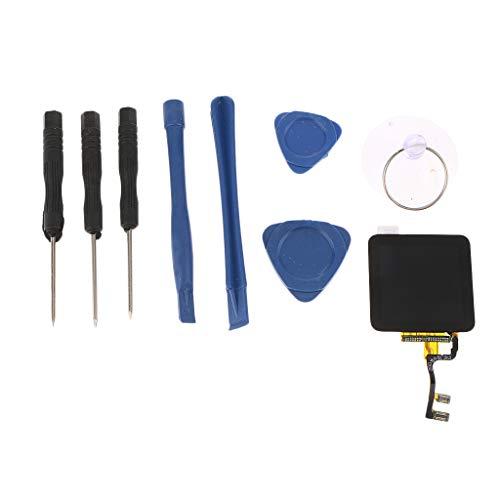 perfk LCD Display und Digitizer Touch Bildschirm für iPod Nano 6, Reparatur Werkzeug Kit - Ipod Digitizer Touch
