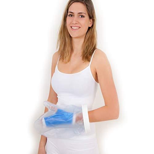 Wasserfester Gipsschutz für Bad und Dusche - Hand, Erwachsener oder Kind, Länge: 30,5 cm (12')