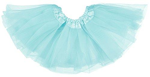 Aqua Tanz Kostüm - Dancina Baby und Neugeborenen Tüllrock Tutu für 0 bis 24 Monate Himmelblau 6-24 Monate
