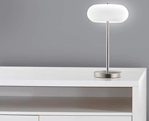 """TRANGO LED Schreibtischlampe TG2017-92 Tischleuchte Nachttischlampe Lampe\""""Miami\"""" inkl. LED Leuchtmittel 3000K warmweiß"""