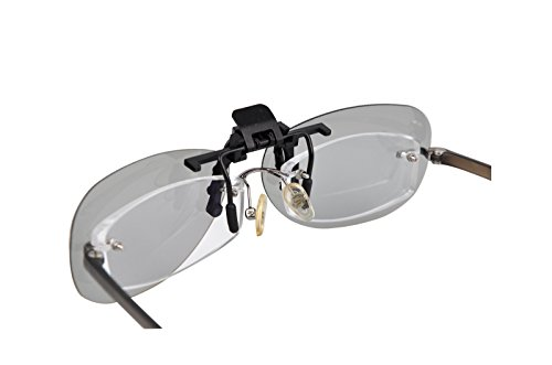 3 Paare von passiven Universal 3D Flip Up Clip auf Gläser benutzen für verschreibungspflichtige Brillen Universal für alle Passive 3D-Kino Tvs und Projektoren