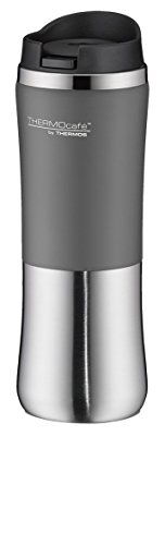 Thermos Thermo Cafe par 4050.218.030 potable tasse, 0,3 l, acier inoxydable, gris