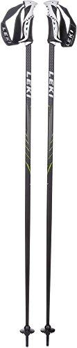 LEKI Gravity Skistöcke, Schwarz/Lime, 110 cm | 04028173748839