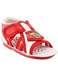 CHiU Chu-Chu Pink Sandal with Strip for Baby Boy and Girl