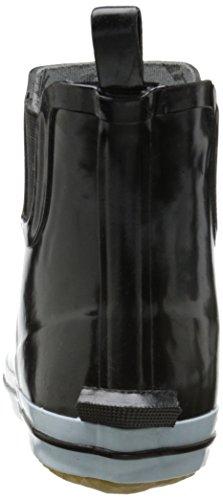 Kamik SHARONLO, Stivali in gomma a gamba corta, imbottitura leggera donna Nero (BLK-BLACK/WHITE)
