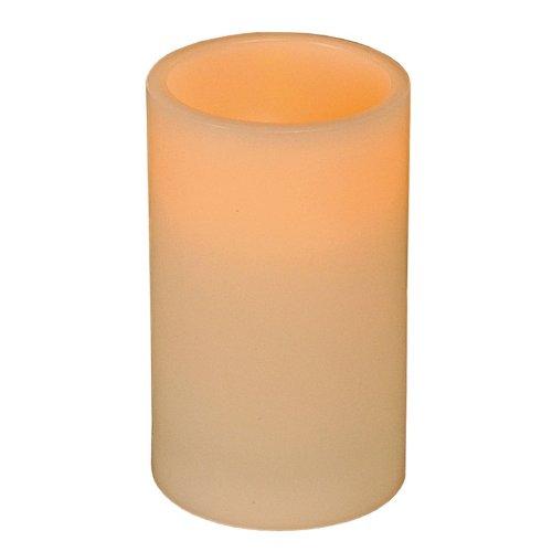 LED-Kerze 12,5x7,5cm elfenbein