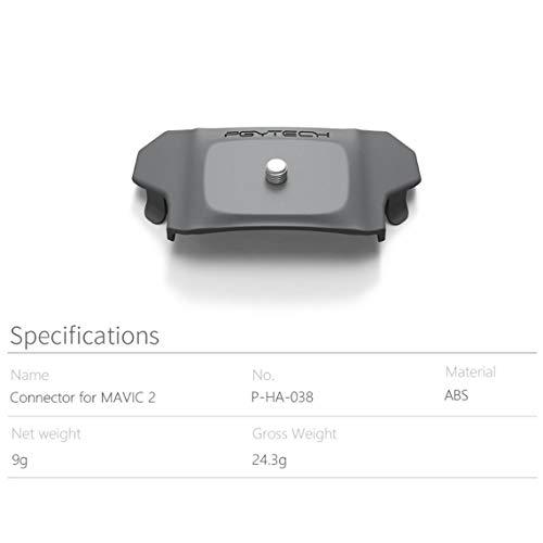 Momorain PGYTECH DJI Mavic 2 Pro/Zoom-Anschluss Mount Adapter-Anschluss für DJI Sports Action Camera Mavic 2 Zubehör