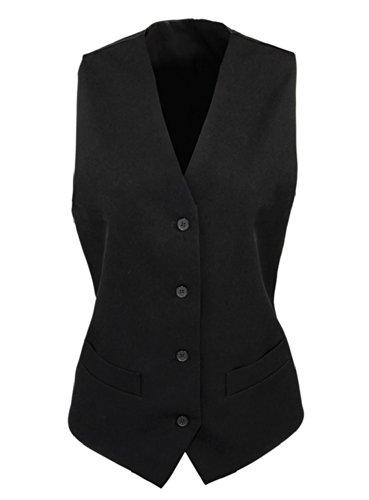 Gilet da donna a righe Black