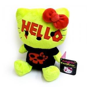 Mad Barbarians in peluche, Hello Kitty, colore: nero