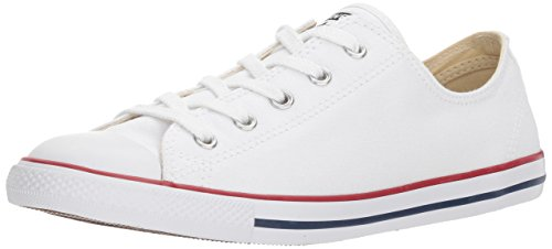Converse CT Dainty Ox C537204 Damen Sneaker, Weiß (Blanc/Rouge), 38 EU (Sneakers Converse Weiße)