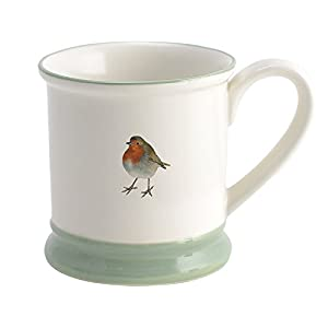 """Into The Wild"" Robin Mug by Creative Tops"