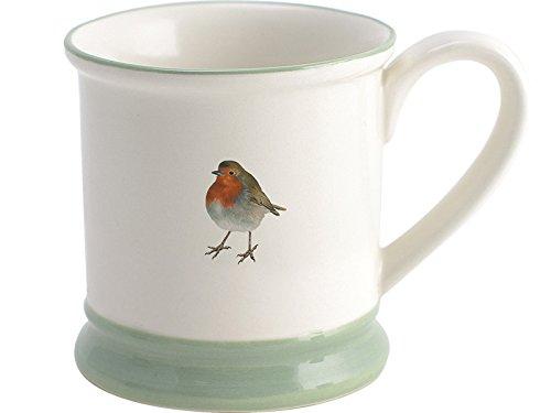 """Vogel Vintage Tee (Creative Tops """"Into the Wild"""" weihnachtlicher Krug/Tasse mit Rotkehlchen, Steingut)"""