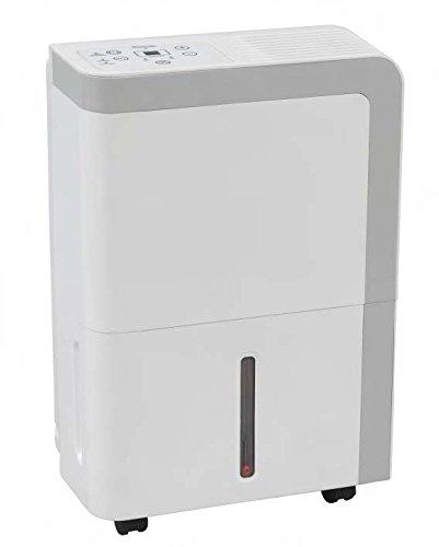 Jocel JDE-001221 Deshumidificador, 450 W, 20 litros, 42 Decibeles, Blanco y gris