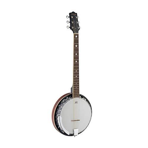 Preisvergleich Produktbild Stagg BJM30 G 6 String Gitarren Banjo Deluxe
