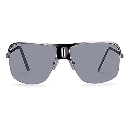 Sunglasses Mens Fashion Driving Glasses for Outdoor Sports Running Surfing Fishing Golf With Case -UV400 Protection