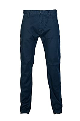 Armani Jeans Men Regular Slim Jeans 6X6J456NKJZ Size 36/32 Blue