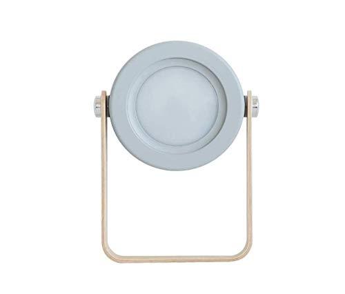 Vintage Kronleuchter Industriestil LED Tischlampe 5w 3d Nachtlicht Laterne Licht im Freien tragbare wiederaufladbare USB Nachttischlampe kreative Geschenke 14,2 * 3,7 * 24,8 cm, grau Restaurant - 3-licht Im Freien Hängeleuchte Laterne
