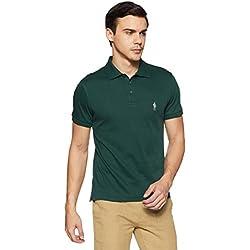 Jockey Men's Regular Fit T-Shirt (3912-103_Eden Green_Medium)