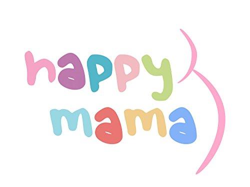 Happy Mama Maternité Femme Robe tunique Tee shirt grossesse à imprimé. 616p écru