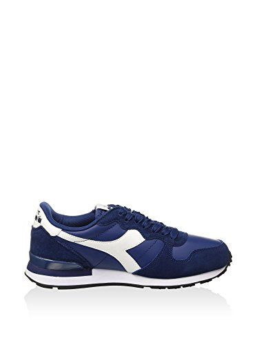 Diadora Camaro Leather, Scarpe Low-Top Uomo Blu scuro