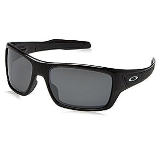 Oakley Turbine Sonnenbrille Schwarz glänzend 926339 63mm SbxANza