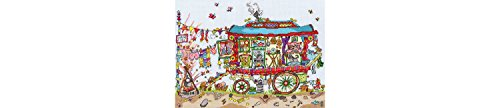 Bothy Threads Cut Thru' Gypsy Wagon Cross Stitch Kit by Bothy Threads (Gypsy Thread)