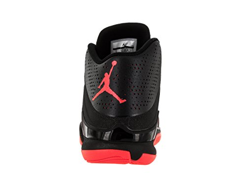 Nike Jordan Super.Fly 4 Po, Chaussures de Sport-Basketball Homme, Taille Unique Multicolore - Negro / Rojo / Gris (Black / Infrared 23-Anthracite)