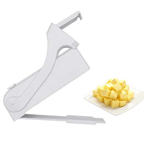 One-Click-Stick Butter Cutter mit Edelstahlklinge, Käsehobel, Butterhobel, Käsespender Splitter, Butter Savers Kitchen Slicer Backwerkzeug Pasta Keeper