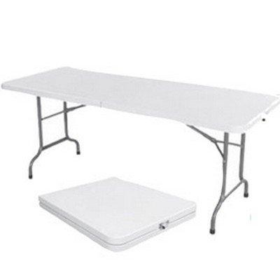 Table rectangulaire ARCHIMEDE 152x76 cm polyéthylène pliable et acier peint